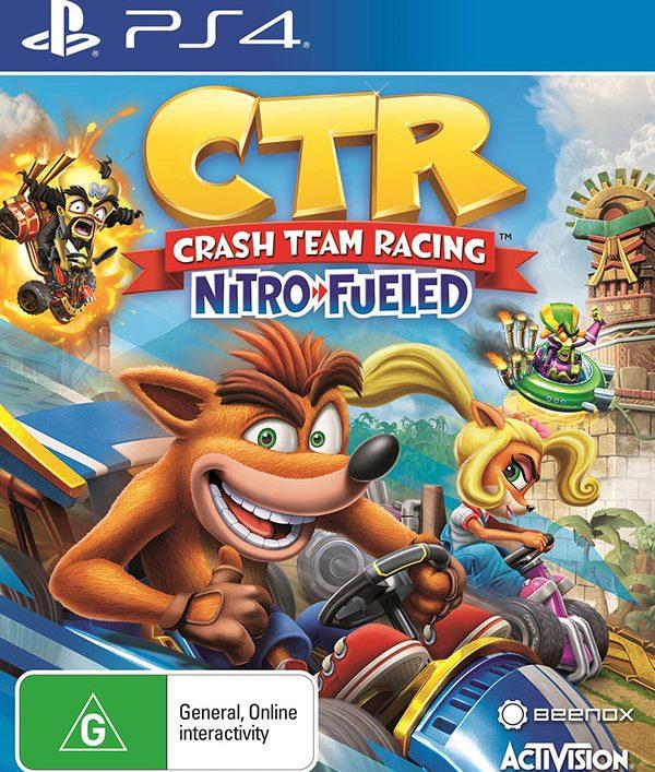 خرید بازی Crash Team Racing Nitro-Fueled PS4