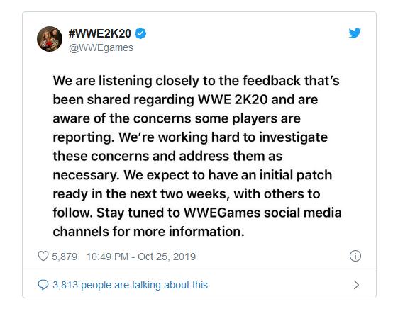خرید بازی WWE2K20