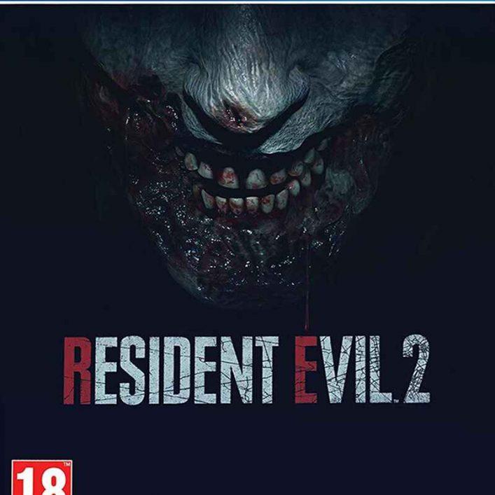 Resident Evil 2 Steel Book